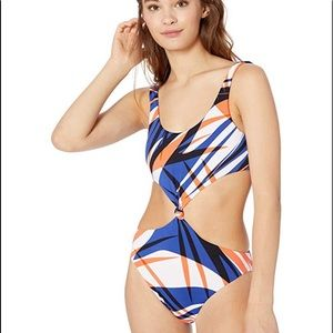 NWT Bikini Lab Cut-Out One-Piece Swimsuit